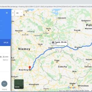 Transport Płock - Włocławek - Norymberga (Niemcy)
